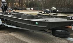 2018 Go-Devil 20x60 surface drive, NICE USED 2018 GO-DEVIL 20X60 SURFACE DRIVE BOAT WITH MCCLAIN TRAILER AND 40HP F-N-R GO-DEVIL SURFACE DRIVE ENGINE. HAS 22 HOURS RUN TIME. WARRANTY. CALL OR EMAIL TODAY FOR MORE INFORMATION. Nominal Length: 20' Stock