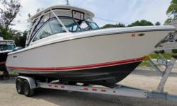 2018 Pursuit DC 265 - Twin Yamaha F-200 w/ power steeringBoat has full electronics including radar. Also has a bow thruster.This is a must see ready to go boating vessel.Limited time, end of year price drop from $159,000 to 144,000!! Offered price expires