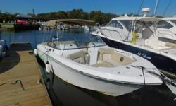 2018 Sea Fox 226 Traveler Dual Console This dual console is a coastal fisher with plenty of family-friendly comforts.This boat is reliably powered by a Yamaha F200 XB and comes optionally equipped with a tow bar for watersports, electric head, the