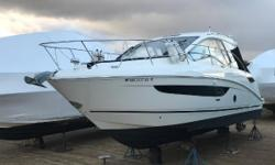 HERE IS A GREAT OPPORTUNITY FOR BIG SAVINGS! 2018 SEA RAY 350 SUNDANCER COUPE WITH JUST UNDER 40 HRS OF USE! THIS BOATS LOADED! IT IS POWERED BY TWIN MERCRUISER 6.2L MPI AXIUS BRAVO 3X DRIVES (350 HP EA.). IT COMES WITH A NICE WHITE HULL WITH BLACK