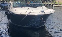 This is a lightly used one owner well maintained Tiara Yachts 31 Coronet.  It has spent its life cruising up and down the ICW. With the Volvo diesels, this Coronet makes boating easy.  Well equipped, and ready for the next owner.