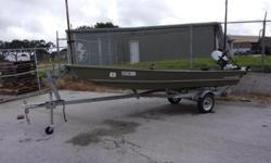 Barely used 2018 Tracker 15 Topper with a F20 Honda engine and Magictilt trailer. Includes a MinnKota Trolling motor and Hummingbird Depthfinder.