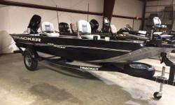 2018 Tracker® Boats Panfish 16 MOTOR UNDER WARRANTY UNTIL 6-13-21 New for 2018, the TRACKER® Panfish 16 features our exclusive Diamond Coat finish and the VERSATRACK® accessory-mounting system in the wider 3 gunnels. With its helm-forward design and