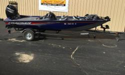 Includes Boat cover, Lowrance fishfinder, minnkota 315d charger, and minnkota edge 70lb trolling motor. A master of multi-species fishing that is outfitted for catching crappie, bass and more. With the Pro Team 175 TF, you can chase and reel in whatever