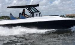 Beautiful custom rigged center console style Catamaran that has been built with absolutely NO expense spared! Top speed 80+ mph. Very fuel efficient and with 600 gallons of fuel this vessel has a 1000+ mile range!!Powered by Twin Carbon Edition 400R
