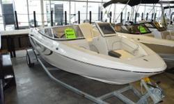 Get ready to hit the waves with this 2019 Caravelle 19 EBO bowrider!  A great family boat with plenty of room for everyone, plus amenities everyone will love! Features include: 90HP Suzuki motor Trailer Bow & cockpit cover Full instrumentation