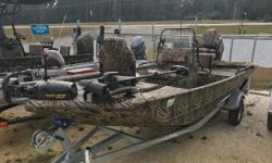 Financing Available! Easy online application process! Apply today!! 2017 Lowe Boats Roughneck 1760CC Whether your passion is in the perfect cast or the perfectly camouflaged duck blind, the Lowe Roughneck 1760 CC is the center console jon boat to meet