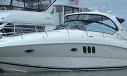 2007 Sea Ray 38 SUNDANCER One owner freshwater boat, sold new and always serviced by MarineMax. Stored in heated winter storage every yeat. Located indoors at MarineMax for easy viewing. Call Craig Graham with any questions or to schedule a showing. For