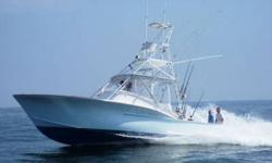 2001 36' Dominion Sport Fish3126 Cat's Cruise 28 knots; Very Nice Engine Room!Spacious interior sleeps 5Well laid out bridge deck area and Cockpit. Recent upgrades include total Paint and all new Teak! Show's Very Well and Best of all is a GREAT