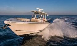 Loaded with all the options and in immaculate condition. Priced well below comparable boats in its class!Dual Garmin 7610 Touch ScreensGarmin Open Array RadarTRIPLE Yamaha F300 Engines with ONLY 180 Hours and Warranties through 2020 !!Optimus 360 Joystick
