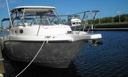 2011 Boston Whaler 305 CONQUEST This 305 Conquest was just taken in trade. Stored inside, lightly enjoyed. Only 87 hours. You must put this family cruiser/fishing boat on the top of your list to view. For more information please call: (888) 816-6651 or