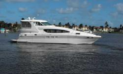 2004 Sea Ray 480 MOTOR YACHT Brokerage Listing....Seller has a professional service taking care of the boat. Great island cruiser. Aft deck gives it extra living space that is climate controlled. Lots of room for long trips, even a watermaker onboard.