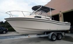 A clean slate for your choice of power and electronics, make this Grady a custom boat without the custom price. Since 1959, Grady White has been one of, if not the most successful boat builders in the world. If you are looking for quality, that will last