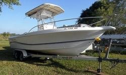 2005 Pro-Line 23 Sport For Sale by Power Yachts International - Florida Exterior Color: White - Interior color: White - Honda 225hp Four Stroke - Single Outboard -Listing originally posted at