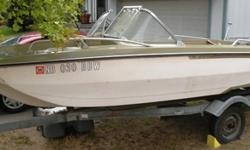 I have a boat (salvage) with 65 horse Johnson motors that runs, good trailer with new tires. I would consider a trade as well, thanks.