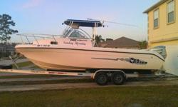 Selling My 24' Sea Chaser. Has A Low Hour In The 300's, Honda 225 4 Stroke Engine. Super Clean Cabin With Potti. Lewmar Windlass. T-Top With Rocket Launchers. Electronics Include, Garmin 182C GPS With ChartPlotter, Garmin Fishfinder, Standard VHF Radio,