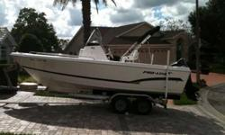 2007 Pro-Line 20 Sport Center Console Suzuki 140hp 4-stroke electronic fuel injection Garmin 545s with BLUECHARTS installed Clean boat...Excellent condition This listing has now been on the market more than a month. Please submit any offer today! We