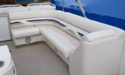 """For 2007 redesigned seating and rear floor plan, .050"""" structural aluminum sidewalls, new console seats, LE Upgrade Package Includes: Docking lights, 28-oz. premium carpet, tilt steering, hourmeter, upgraded midback bucket seat with slider and armrests,"""