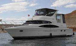 2003 Carver 444 CPMY-ES$262,5002003 Carver 44 CPMY-ES (Fresh Water) Diesels Beautiful well appointed vessel with spacious salon and full galley, Well maintained with lots of extras.Slipped at Wahweap Marina cruise the shores of beautiful Lake Powell.Fresh