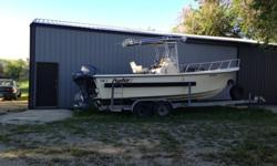Length: 23.0 feetYear: 2002Make: ParkerTwin, Trolling Motor, Trailer, Fish Finder, Depth Finder, Batteries, Original Owner, GPS, Charger, Outboard (O). If interested please contact Lynn at 406-568-2012