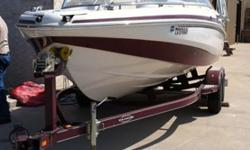 """2008 Tracker Marine / Tahoe Q8Si 5.0 liter Inboard / Outboard 320 HP Mercruiser with 123.3 hours on motor Length 21' 8'' Beam 102"""" Depth Inside 32"""" Max. Person Capacity 10 Persons Dry Weight 3500 Lbs. Fuel Capacity 54 Gallons Custom Factory Matched"""