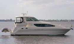 2008 Sea Ray 400 MOTOR YACHT Running Erins has just completed the Great Loop. This 40 MY is loaded with options & amenities to assist the most particular boater. Upgrades on Running Erins include but are not limited to: 9' AB dingy with new 8hp Engine,