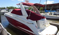 Phoenix is a 2006 29' Monterey 290 Sport Cruiser. She offers twin Mercruiser 260 hp main engines, Kohler 5 kW generator, air conditioning, 2 stateroom layout and a full galley. Sellers are two boat owners, so Phoenix is priced to sell. Draft: