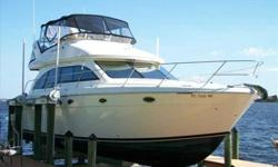 """2006 Meridian 411 SEDAN BRIDGE ONE LOOK AND YOU WILL AGREE, THIS WILL BE THE NEXT 411 TO SELL. SHE HAS BEEN CHERISHED, SERVICED AND IS TURN KEY WITH EXTENDED PROTECTION UNTIL 7/2015. """"Easy Street"""" is a rare opportunity for the focused Buyer looking for"""