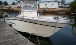 1998 Cape Horn 2006 Prod and 2007 Prod Yamaha Twin 150 Four Strokes Fish Finder GPS Combo, T-Top Engine warranty valid until 03/821/2014 (Transfer Fee Required) Boat and Motor $29,900 Come see it in person and at Pelican Marine Center Inc., 13323 US Hwy
