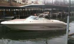 1998 Sea Ray 280 BOW RIDER Looking for a great value, boat tenderly cared for by meticulous owner, 300 loving hours, great condition, beautiful white finish with no dings. The white and gold trimmed interior is prefect. Looking for the big bow rider for a