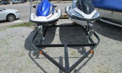 2008 Kawasaki STX15F Three Seater Jet Ski / 2003 Yamaha FX-1000-BS Three Seater Jet Ski These two jet skies are in great shape and water ready. Both are fuel injected 4-stroke power plants and they are both capable of three riders! The package comes with