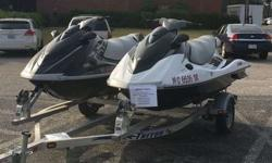 2 Yamaha Wave Runners for sale including trailer. call me (720)x 600x-7015