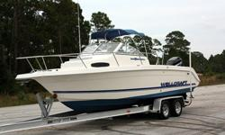 1997 Wellcraft 240 Coastal!! Mercury 225hp Optimax EFI w/ ONLY 3 Hours!! Boat Runs PERFECT!!! BRAND NEW POWER HEAD!! Over $5,800 in Receipts!! (See Photos) Brand NEW Bluetooth Marine Stereo!!! Brand NEW Marine Speakers Sound Great!! Apline 4-channel