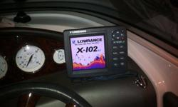 Everything looks and works great. I bought a boat and it came with another Fishfinder. I don't need two. Lowrance makes a great product.I can hook this up on my boat to show it working.Color Sonar with Transducer, cover, and power cable.Total sonar