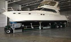 2003 Sea Ray 48 SEDAN BRIDGE New to the brokerage market is Clipper 5. This One Owner, Indoor Stored 480 Sedan Bridge is A MUST SEE!! She was brought down from the fresh waters of WI. Her overall condition will satisfy even the most discerning buyer.
