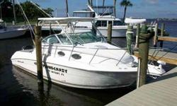 2002 Wellcraft 270 COASTAL Manufacturer Provided DescriptionThe Wellcraft 270 Coastal is a luxurious fishing boat that's tough enough to handle rough seas. Anglers will appreciate the generous amount of standard features including fish boxes with lift