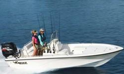"""2011 Mako 1901 Inshore The 1901 uses every inch of its 18' 10"""" (5.74 m) overall length and 7' 9"""" (2.36 m) beam to provide anglers and families with plenty of casting space and features. In the cockpit, this boat comes with everything from multiple storage"""