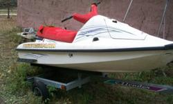 This ski comes with trailer and has not been in salt water needs TLC. make offer