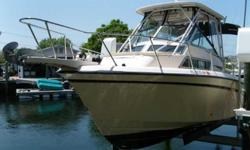 1999 Grady-White 272 Sailfish This 1999 Grady-White 272 Sailfish is ready for fishing, cruising and weekend excursions! The renowned Grady-White design gives it that classic look but it was built strong & sturdy for serious fishermen. She's equipped with