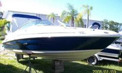 2006 Sea Ray 220 SUNDECK For more information please call: (888) 816-6651 or call us toll-free at: (888) 510-8204 and reference stock number: 104959 BoatingBay.com 102139