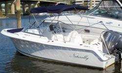 This 22? Sea Hunt 220 Escape is located in Norwalk, CT. This vessel is in near new condition and makes for one fabulous runabout for a variety of needs. Save significantly on this progressive V bottom boat that is stable at rest and when throttling up.
