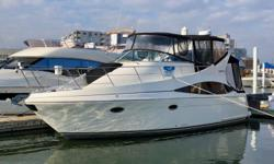 New Price for Fall 2018. Beautifully maintained motor yacht with custom upgrades to the interior/exterior, well laid out and spacious fly bridge, exquisite details and cherry woodwork through out, and extended custom canvas over the aft cockpit make this