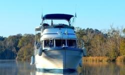 Are you looking to experience the great loop? This boat just completed the loop and is ready to go again! Complete with a single Lehman diesel, new composting forward head, and new refrigerator. Make an appointment to see this great vessel today! Draft: 4