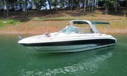 2000 Sea Ray 280 BOW RIDER 2000 Sea Ray 280 Bow Rider located on fresh water Lake Lanier,Georgia in a covered slip; Powered by twin 350 MAG Mercruiser engines Bravo III Drives w/ 435 well maintained hours.Equipped w/ everything..Vacu-flush head,Corsa