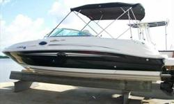 2007 Sea Ray 240 SUNDECK This indoor stored , awesome condition 240 Sundeck is another fine example of why it's one of Sea Rays' best selling and most popular sport boats 4 to 1 amoung it's competitors. Owner brought down from fresh water use. Service up