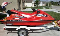 I have a 96 jetski that I would like to sell. It has a rebuilt engine with only about 10 hrs. on it that I had rebuilt in 2010. It has been well taken care of. I didn't get it out on the lake in 2011, but has been winterized and shrinkwrapped. It comes