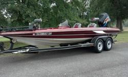 I HAVE REMOVED THE RESERVE PRICE WHICH WAS $13,000. THE HIGHEST BIDDER WILL BE TAKING HOME AN AWESOME BASS BOAT.