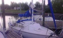 Catalina c22' - 1985 - new main sail, great running 6h.p. 4 stoke tohatsu outboard, vhf radio, jib with harken furler, Bimini and connecting dodger in beautiful condition. Bottom job one year ago. Boat needs nothing to sail it away. Engine starts in first