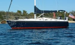 Anthem is a 1985 40' Hunter in very nice condition. Her experienced owners have cruised her extensively and have updated and upgraded her with custom, common-sense features. Her present owners purchased Anthem in 2000 from her original owner and have