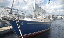 New to the market is the best equipped (and ONLY Bill Shaw approved sloop/cutter modification!) Pearson 424 on the market! 2009 Yanmar engine, updated electronics, heavy duty custom arch, water-maker, and much more! This beautiful Pearson 424 has